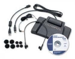 Olympus AS7000 Abspielkit inkl. Fußschalter, Kopfhörer, Software