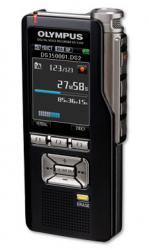 Olympus Diktiergerät DS3500 Inkl. Software f. Windows, DSS Player für MAC, microSD-Karte (2 GB), Bedienungsanleitung, Akku USB-Kabel.